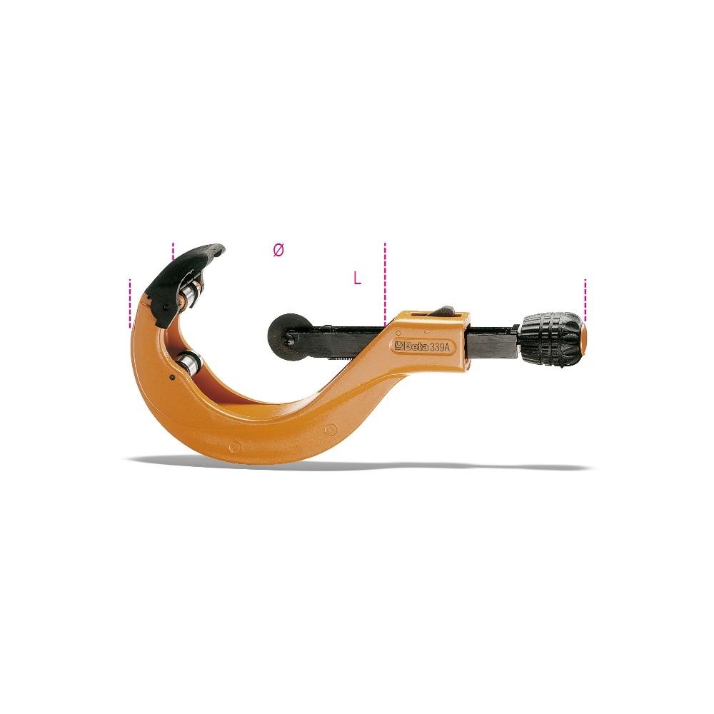Tagliatubi ad avanzamento telescopico rapido per tubi di plastica - Beta 339A