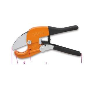 Cesoia a cricchetto per tubi in materiale plastico - Beta 342