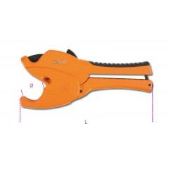 Cesoia a cricchetto per tubi in materiale plastico con corpo in lega di magnesio - Beta 342P