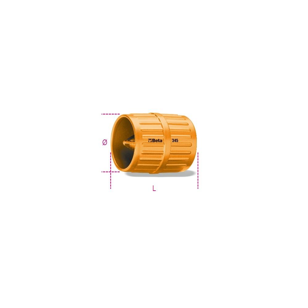 Utensile sbavatubi corpo in metallo verniciato - Beta 345