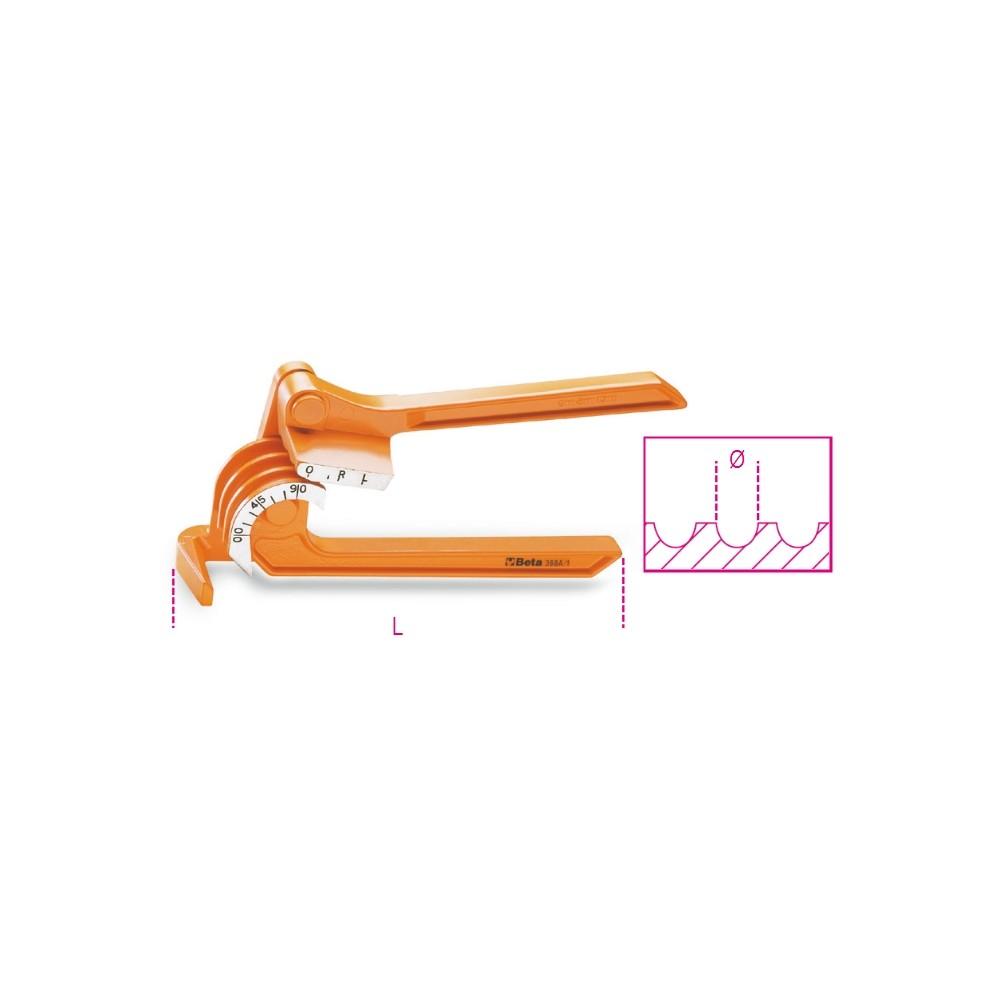 Pinza curvatubi per tubi sottili in rame, lega leggera - Beta 388A
