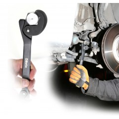 Self-locking wrench with automatic take-up device for hexagons, 8 to 32 mm - Beta 186