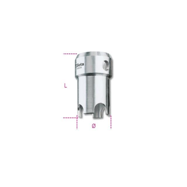 Adattatore per pilette con grata a croce per 359 in alluminio - Beta 359CH