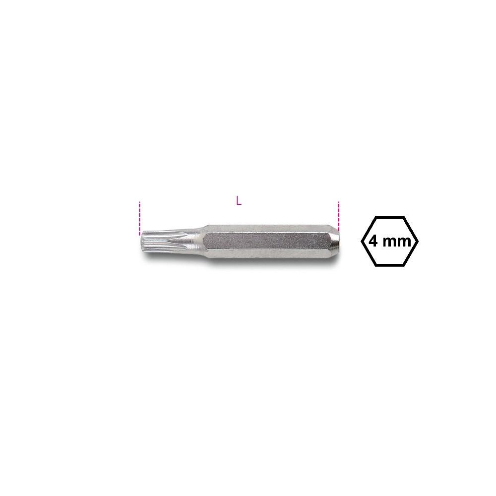 Inserti 4 mm per viti con impronta Torx  - Beta 1256TX