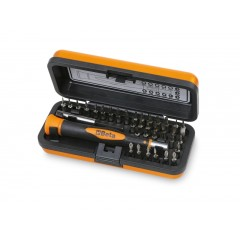 Bimaterial-Elektronikschraubendreher mit 36 austauschbaren 4 mm Bits und