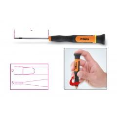Micro-screwdrivers for slotted head screws - Beta 1257LP