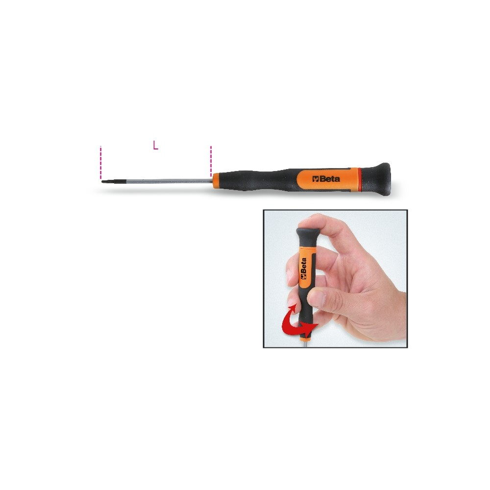 Microgiravite a chiave maschio per viti con impronta Torx® - Beta 1257TX