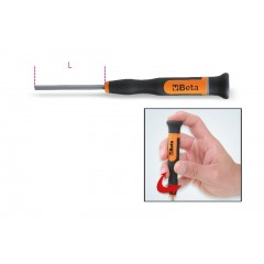 Micro-screwdrivers hexagon socket wrenches - Beta 1257BE