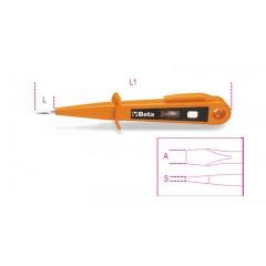 Mains testing screwdriver 125/250V, double insulation - Beta 1253A
