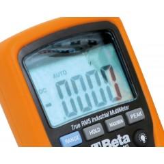 Multimetro digitale industriale preciso e robusto in un guscio costampato di 6 mm, con gomma esterna antisci... - Beta 1760/RMS
