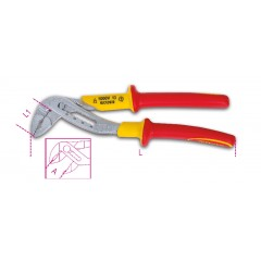 Slip joint pliers, boxed joint, insulated 1000V - Beta 1048MQ