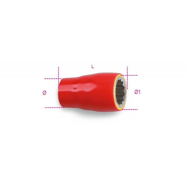 Douille 12 pans - Beta 910MQ/B