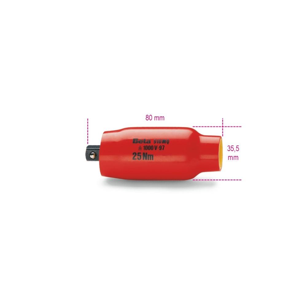 """Удлинитель для применения с торцевыми головками, квадрат 3/8"""" - Beta 910MQ/PT"""