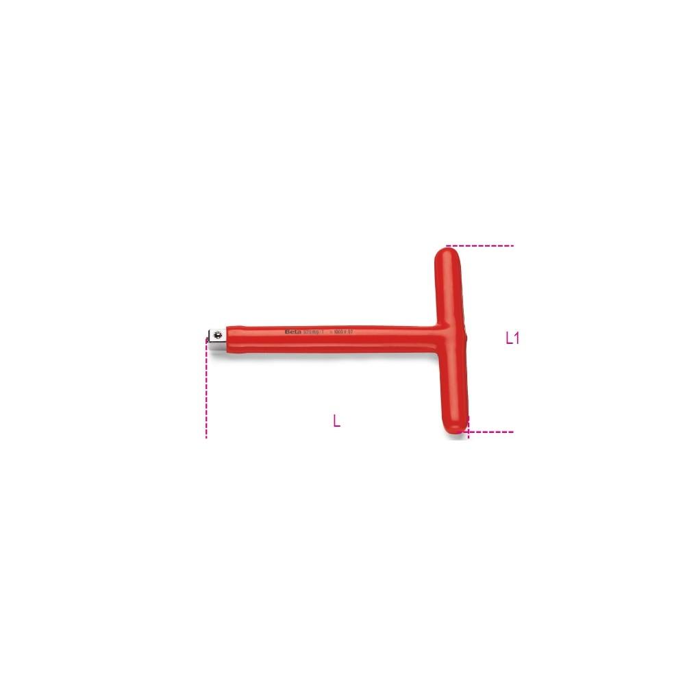 "1/2"" square drive, T-handle - Beta 920MQ/T"