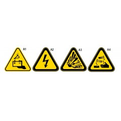 Cartelli di avvertenza in alluminio - Beta 7109A