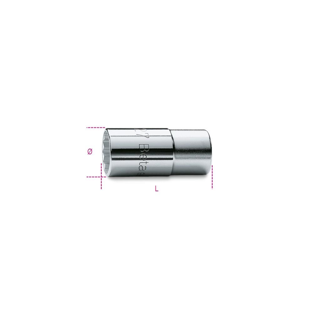 "1/2"" square drive socket for Diesel engine injectors - Beta 960"