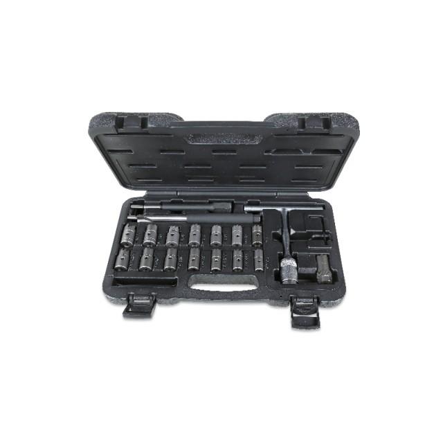 Composition de 19 outils pour le nettoyage des sièges des injecteurs - Beta 960PI/C19