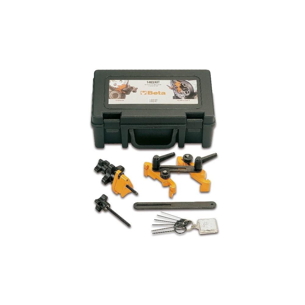 Kit attrezzatura per blocco pulegge distribuzione - Beta 1463/KIT