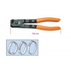 OETIKER® szemesbilincs  összehúzó fogó, barnított, PVC-bevonatú szárral - Beta 1473A