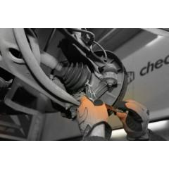 Attrezzo per serraggio e taglio fascette a nastro in acciaio inox - Beta 1473FN