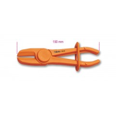 Pinza in plastica per occlusione tubi e manicotti - Beta 1481PL/B