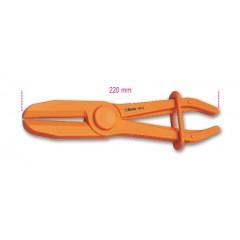 Pinza in plastica per occlusione tubi e manicotti - Beta 1481PL/C