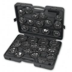 Serie di 28 chiavi a bussola per filtri olio - Beta 1493/C30