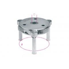 Chiave autoregolabile a tre bracci per filtri olio destrorsa-sinistrorsa - Beta 1493/S-U