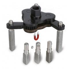 Chiave autoregolabile a tre bracci per filtri olio destrorsa-sinistrorsa, con bracci intercambiabili - Beta 1493/C7
