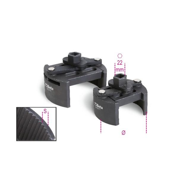 Önzáró kulcs jobbmenetes-balmenetes olajszűrőkhöz nehéz változat - Beta 1493Y