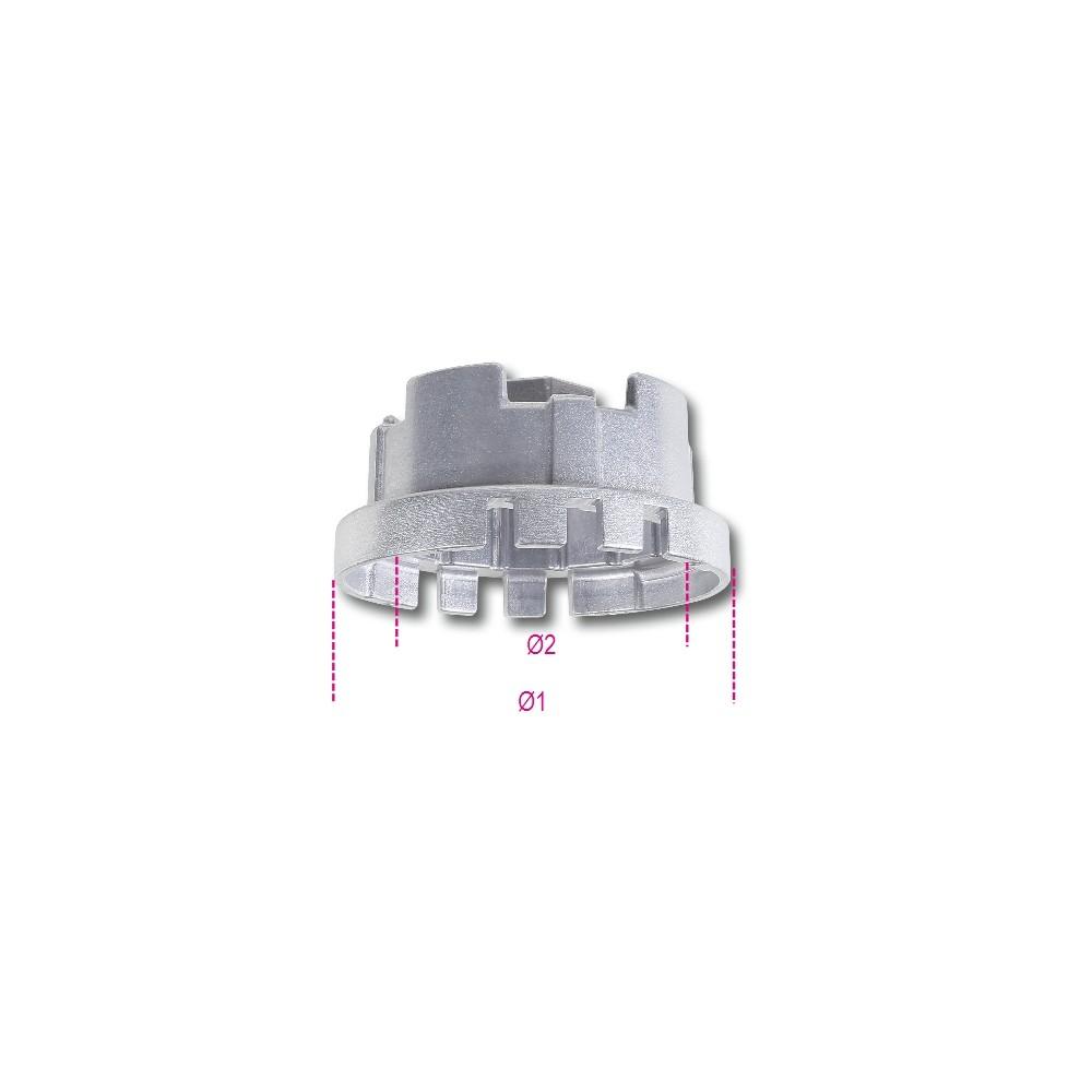 Chiavi a bussola per filtri olio per auto asiatiche - Beta 1493AL 4S