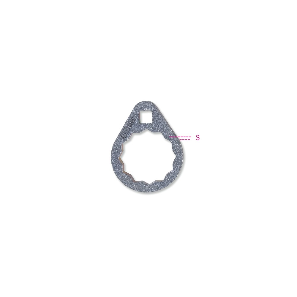 Chiavi poligonali per cartucce filtri olio di difficile accesso - Beta 1493B