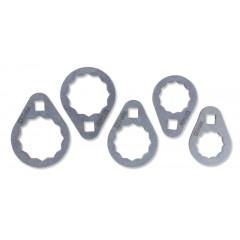 Serie di 5 chiavi poligonali per cartucce filtri olio di difficile accesso - Beta 1493B/S5