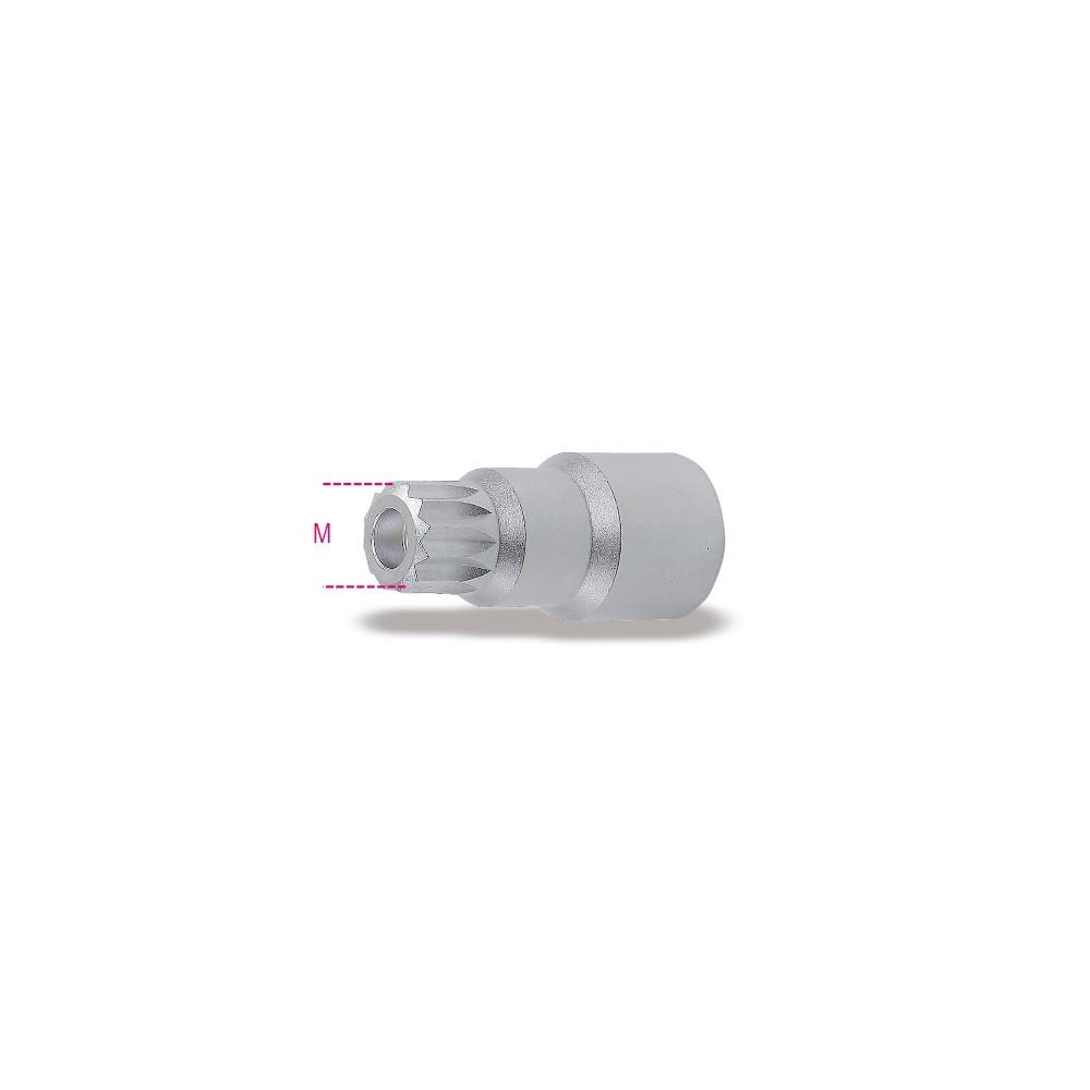Chiave a bussola maschio con profilo XZN per tappi olio motore - Beta 1494XZN