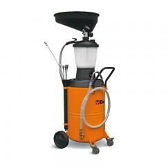 Recuperatore/aspiratore olio esausto, carrellato con serbatoio da 90 litri e precamera - Beta 1877A