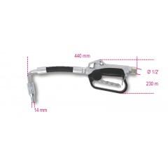 Pistola olio con estremità flessibile e salvagoccia automatico - Beta 1882