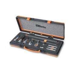 Assortimento di 14 utensili per le pulegge libere degli alternatori - Beta 1489/C14