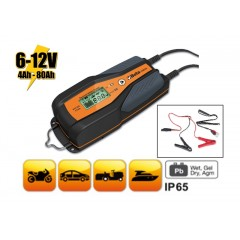 Electronic car/motorcycle battery charger, 6-12 V - Beta 1498/4A