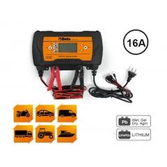 Caricabatterie elettronico 12-24V multifunzione - Beta 1498/16A