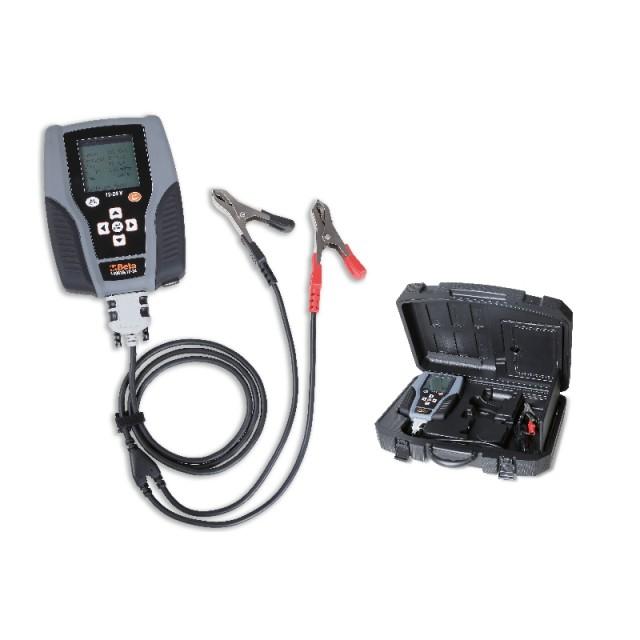 Tester digitale per batteria 12V e analizzatore sistema di avviamento e ricarica 12-24V - Beta 1498TB/12-24