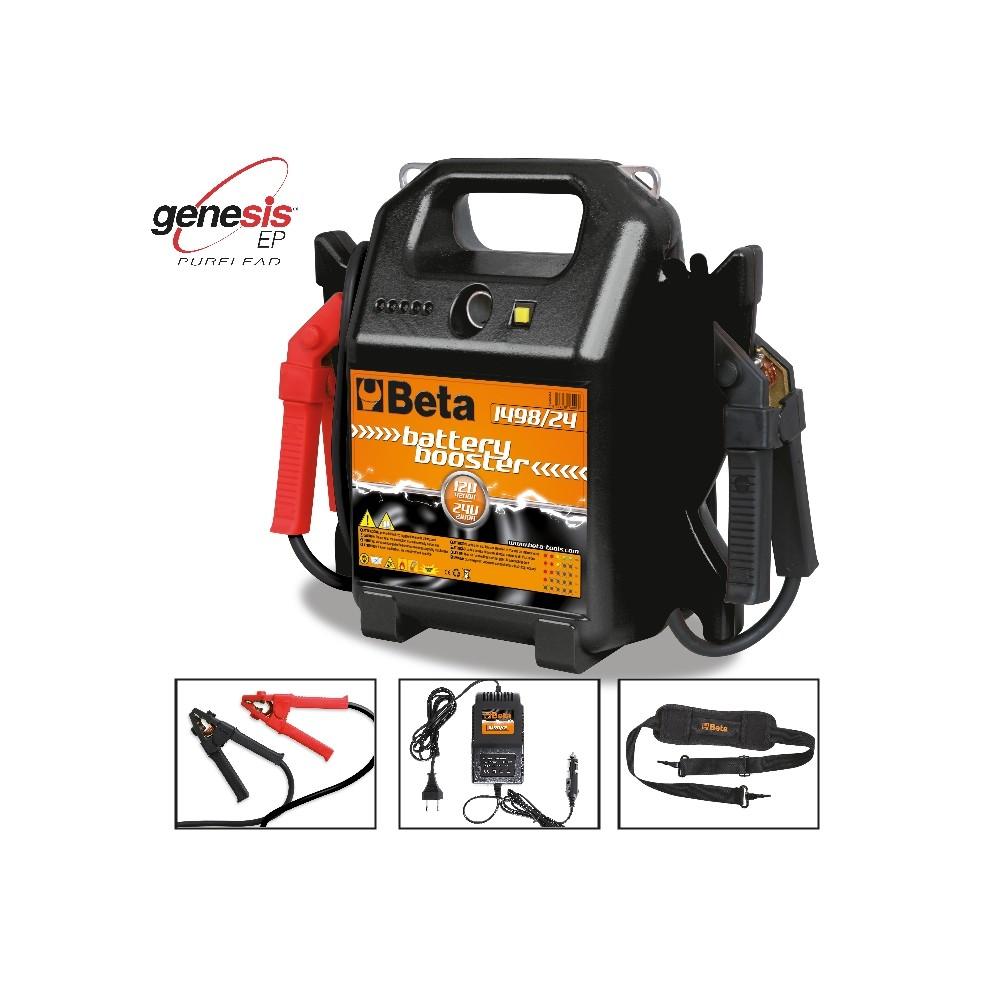 Avviatore per auto e veicoli commerciali  12-24V portatile - Beta 1498/24