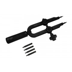 Internal and external snap ring tool, screw-operated - Beta 1558/C4