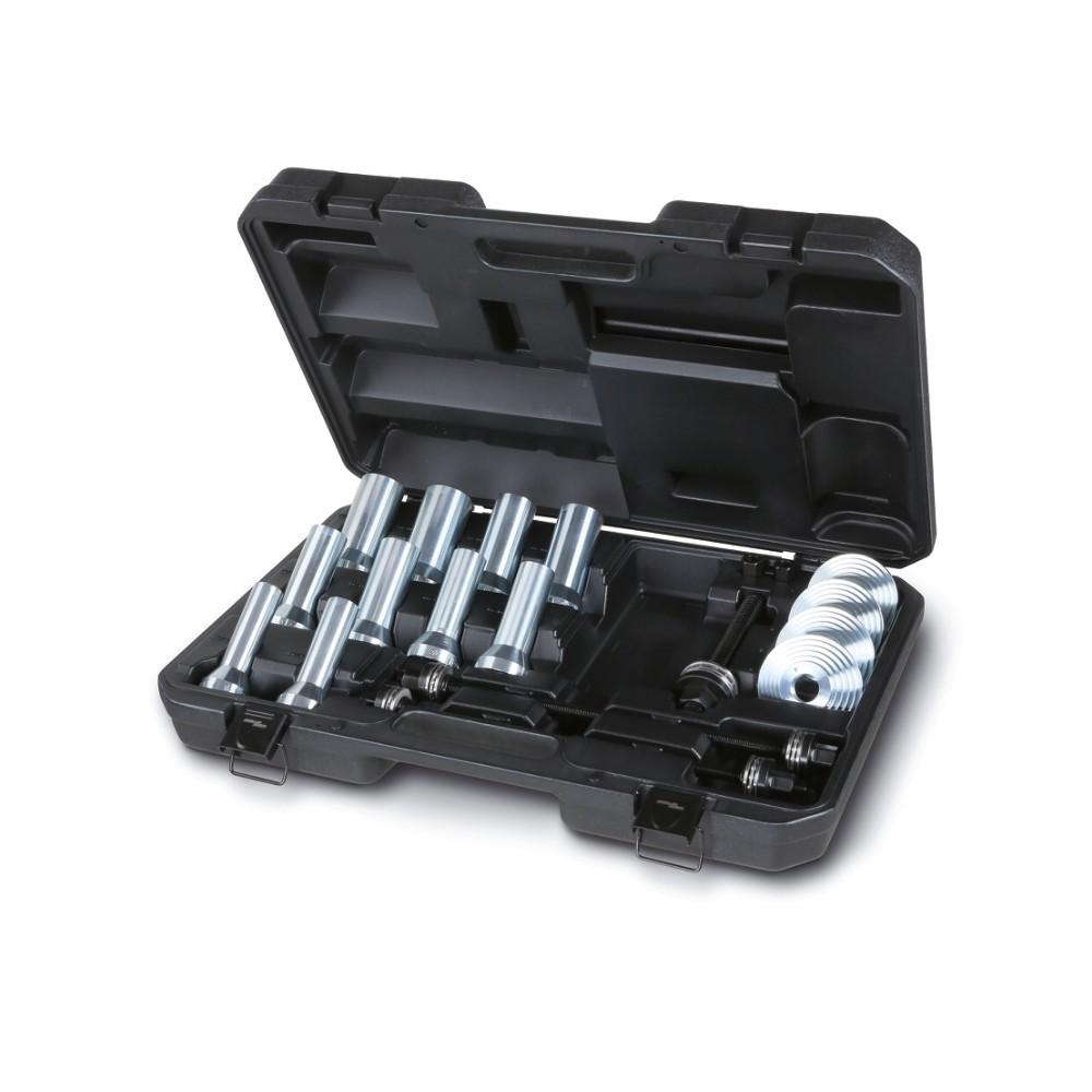 Assortimento utensili per l'estrazione e l'introduzione di silent block, paraoli e cuscinetti ruota - Beta 1569/B