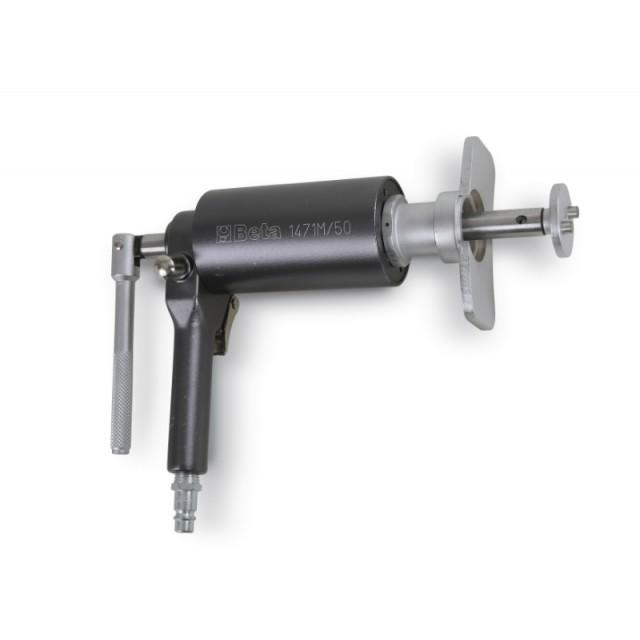 Utensile pneumatico per arretrare e ruotare i pistoncini dei freni a disco destrorsi e sinistrorsi - Beta 1471M/50