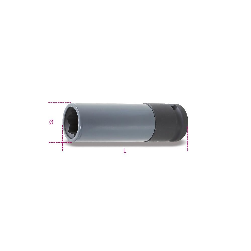 Chiave a bussola Macchina con inserto polimerico per vite ruota con profilo Mercedes - Beta 720MRC