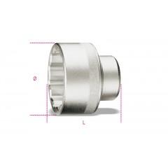 Socket for locking Fiat Daily hub nuts - Beta 970B