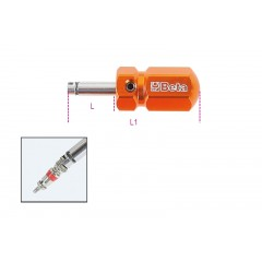 Tyre valve screwdriver, short model - Beta 986 48