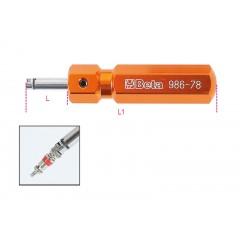 Tournevis pour valves pneus - Beta 986 78