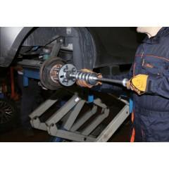 Kit a massa battente con colonnette distanziatrici, per estrazione mozzi e cuscinetti ruote a 3, 4, 5 fori - Beta 1530/C16