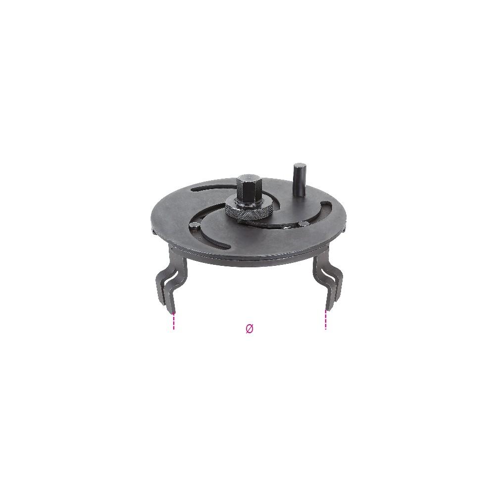 Chiave regolabile autoserrante per ghiere galleggianti serbatoio - Beta 1482